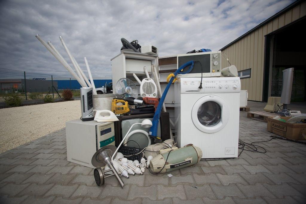 Elektronikai hulladékok begyűjtése